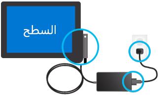 اختبار الاتصالات على شاحن USB.