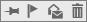 وضع علامة على الرسالة كمحذوفة ووضع علامة كغير مقروءة ووضع إشارة والتثبيت في أعلى الشاشة