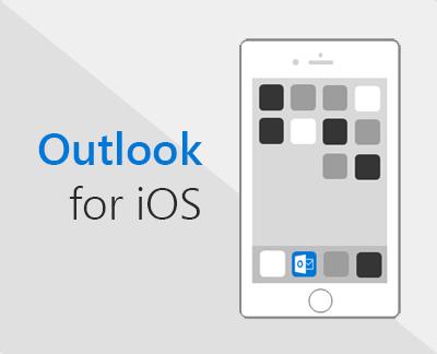 انقر لإعداد تطبيق Outlook لـ iOS