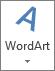 أيقونة WordArt كبير