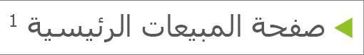 حاشية سفلية بحرف مرتفع في النص الأساسي للشريحة