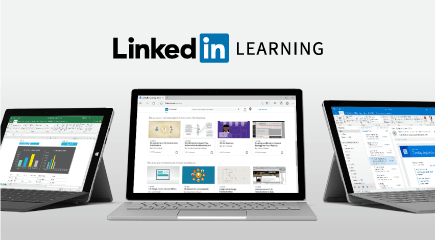 الإصدار التجريبي المجاني من LinkedIn Learning