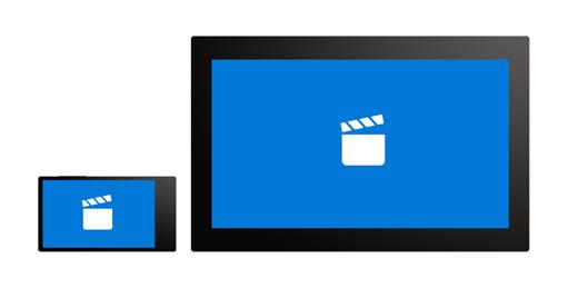 يمكنك تشغيل الفيلم نفسه على هاتفك والكمبيوتر اللوحي، والمتابعة حيث توقفت.
