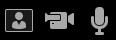 تشغيل / ايقاف الازرار ل# ميكروفون و# كاميرا الكاميرا معاينه النافذه