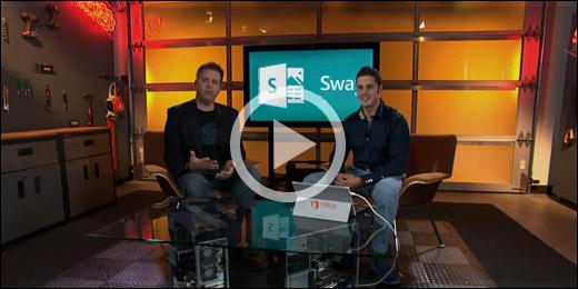 فيديو مقدمة Sway - انقر فوق الصورة للتشغيل.