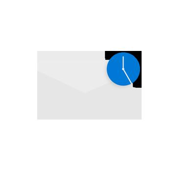 التخطيط ل# البريد الالكتروني.