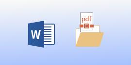 عرض ملف PDF في Word for Android