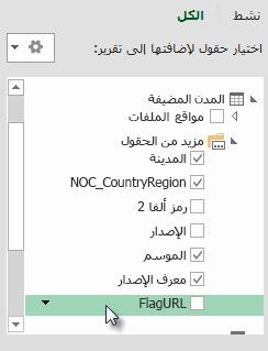 إضافة FlagURL إلى جدول Hosts