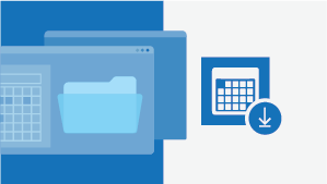 ورقة المعلومات المرجعية في تقويم Outlook لـ Mac