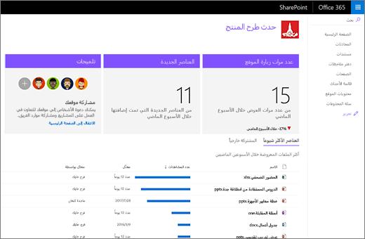 صفحه استخدام SharePoint