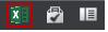 أيقونة Excel في Excel Web App
