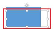 حدد مربع النص الذي تريد إظهاره.