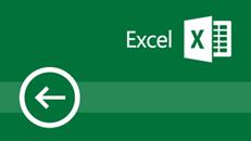 التدريب على Excel 2016