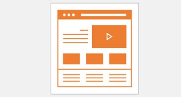 تخطيطين مختلفين لصفحة الويب؛ واحد للكمبيوتر الشخصي وواحد للأجهزة المحمولة