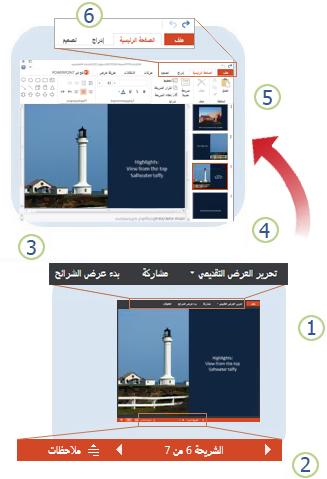 نظرة سريعة على PowerPoint Web App