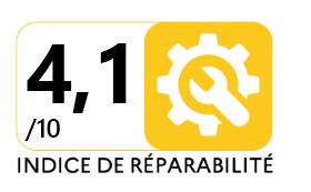 مؤشر إمكانية التصليح الفرنسي 4.1/10