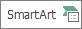 """الزر """"تصغير حجم SmartArt"""""""