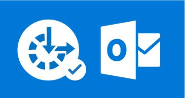 أيقونة Outlook ورمز إمكانية وصول ذوي الاحتياجات الخاصة