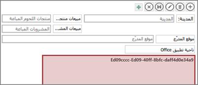 تحرير تطبيق لـ Office في Access