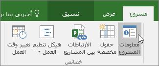 معلومات المشروع