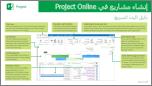 إنشاء المشاريع في دليل البدء السريع في Project Online