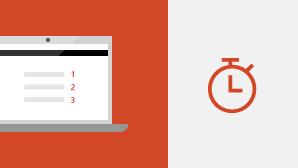 التشغيل السريع لـ PowerPoint 2016