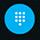 عرض لوحة طلب الهاتف أثناء إجراء مكالمة