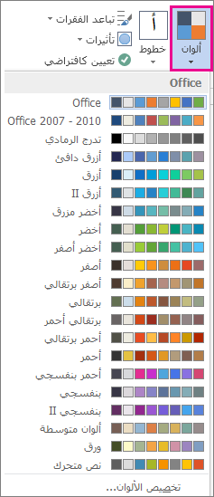 معرض ألوان النسق