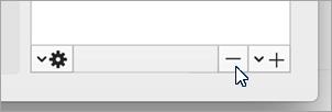 لقطه شاشه ل# حذف هذا الزر الحساب المحدد.
