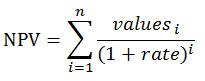 معادلة NPV