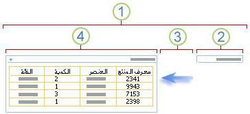 نظرة عامة حول الاتصال بجزء ويب للتصفية