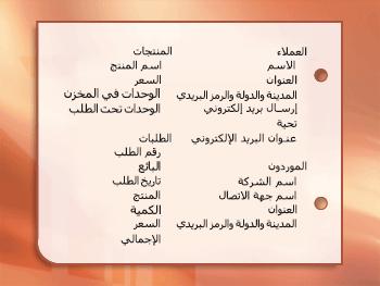 لقطه شاشه ل# عناصر المعلومات مجمعه في مواضيع