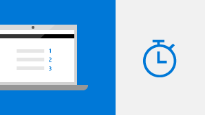 التشغيل السريع لـ Outlook 2016