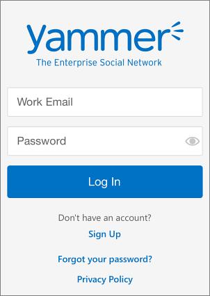 صفحة تسجيل الدخول
