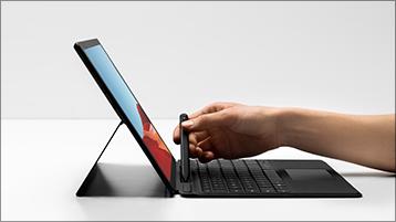 التقاط القلم الرفيع لـ Surface