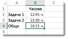 Събраните часове са повече от 24 и дават неочакван резултат 4:15