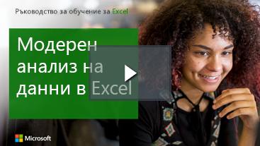 Жена усмихнат, ръководство за обучение за Excel