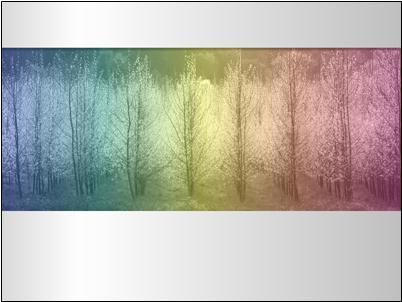 Картина с разноцветни оттенък