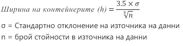 Формула за автоматична опция