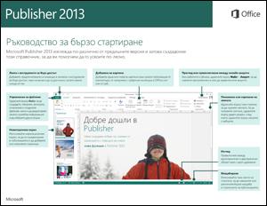 Ръководство за бързо стартиране в Publisher 2013