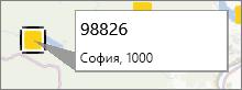 Анотиране на пощенски код в PowerMap