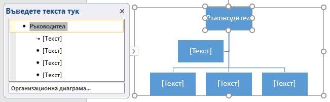 Въвеждане в текстовия екран