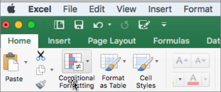 Условно форматиране