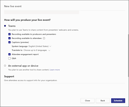 Ново събитие на живо – как ще създадете екран