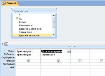 Мрежа за проектиране на заявки