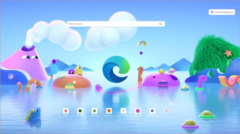 Режим за деца в Microsoft Edge