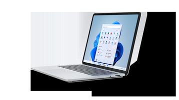 Рендиране на Surface Laptop Studio