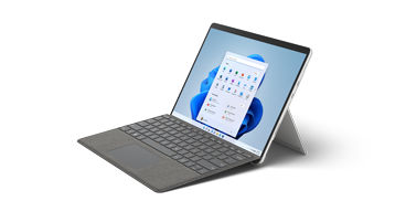 Рендиране на Surface Pro 8