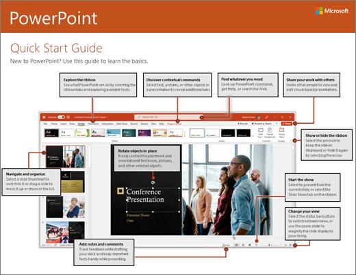 Ръководство за бърз старт в PowerPoint 2016