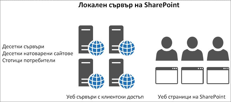 Показва трафика и зареждането на локални клиентски уеб сървъри